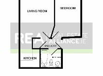 Floorplan 1 of Apt 98 Pemberton House, 33 Mountjoy Square, Dublin