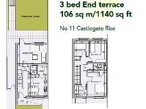 Floorplan 1 of 11 Castlegate Rise, Adamstown, Lucan, Dublin