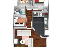 Floorplan 1 of 25 Summerseat Crescent, Clonee, Dublin