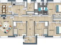 Floorplan 1 of Leinster View, The Cools, Barntown