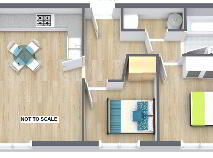 Floorplan 1 of 44 The Mill Apartments, Baltinglass