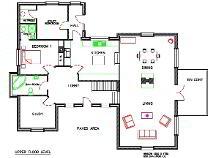 Floorplan 1 of Castlehill, Ballyadams, Athy