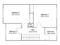 Floorplan 2 of 19 Foxborough Drive, Lucan, Dublin