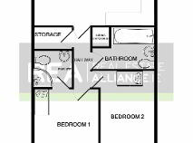 Floorplan 1 of 85 Kiltipper Gate, Kiltipper, Tallaght, Dublin