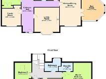 Floorplan 1 of The Hill, Brideswell Little, Gorey