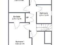 Floorplan 2 of 13 Weston Avenue, Lucan, Dublin