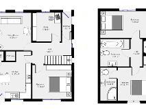 Floorplan 1 of (Lot 1) 31 Mountain View, Pollerton Big, Carlow