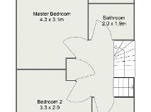 Floorplan 2 of 14 Ashpark Court, Lucan