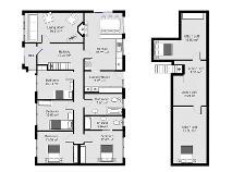 Floorplan 1 of Knockroe, Baltinglass