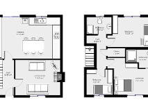 Floorplan 1 of 6 Quinagh Green, Quinagh, Carlow