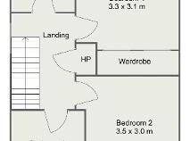 Floorplan 2 of 12 Hillcrest Lawns, Lucan