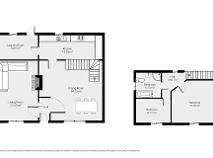Floorplan 1 of School Teacher's House, Hacketstown
