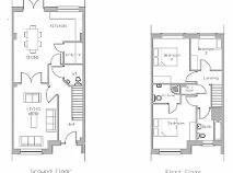 Floorplan 1 of Type C, Listoke Avenue, Ballymakenny Road, Drogheda