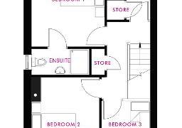 Floorplan 2 of Joyce, Longridge At The Hollows, Gilford Road, Lurgan