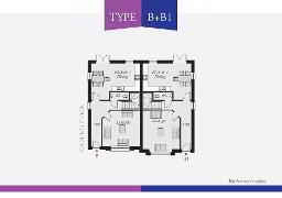 Floorplan 1 of Type B (With Sunroom), Lynn Hall Park, Rathgael Road, Bangor