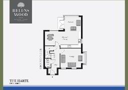 Floorplan 1 of The Harte, Helens Wood, Bangor