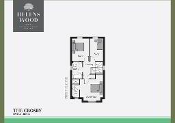 Floorplan 2 of The Crosby, Helens Wood, Bangor