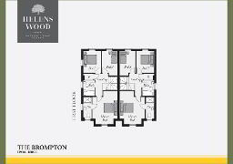 Floorplan 2 of The Brompton, Helens Wood, Bangor