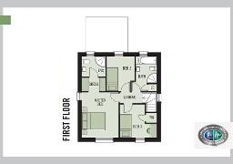 Floorplan 2 of Portland A1.4B, Belmont Hall, Belmont Road, Antrim