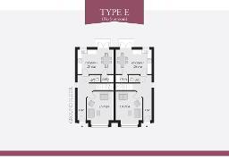 Floorplan 1 of Type E, Lynn Hall Park, Rathgael Road, Bangor