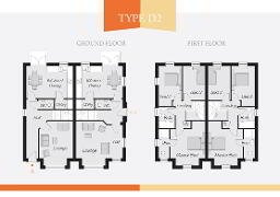 Floorplan 1 of Type D, Lynn Hall Park, Rathgael Road, Bangor