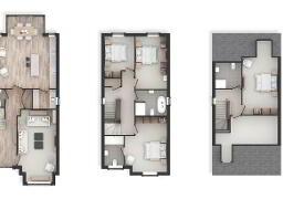 Floorplan 1 of The Birch, House Type Z, Castlehill Wood, Belfast
