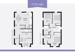 Floorplan 1 of Type 8B1, Lynn Hall Park, Rathgael Road, Bangor
