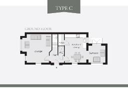 Floorplan 1 of Type C (Render), Lynn Hall Park, Rathgael Road, Bangor