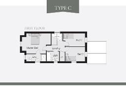 Floorplan 2 of Type C (Render), Lynn Hall Park, Rathgael Road, Bangor