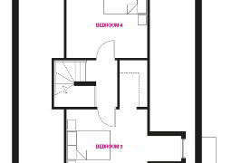Floorplan 2 of The Oxford, Woodford Villas, Armagh, Woodford Villas, Armagh