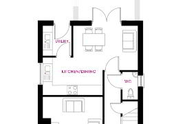 Floorplan 1 of Behan, Longridge At The Hollows, Gilford Road, Lurgan