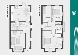 Floorplan 1 of The Harrington, Drumnagoon Park, Drumnagoon Road, Craigavon