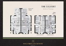 Floorplan 1 of The Calvert, Ballymullan Manor, Plantation Road, Lisburn