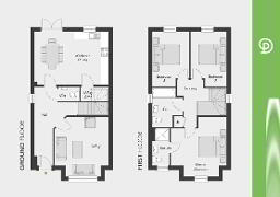 Floorplan 1 of The Alnwick, Drumnagoon Park, Lurgan,Portadown, Craigavon