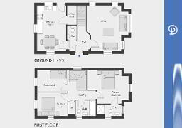 Floorplan 1 of The Cambridge, Drumnagoon Park, Lurgan,Portadown, Craigavon