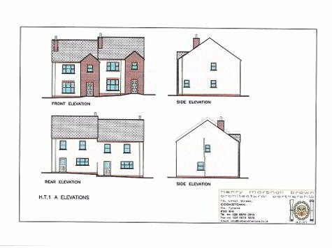Floorplan 1 of House Type 1A, Carryview, Coagh, Urbal Road, Coagh