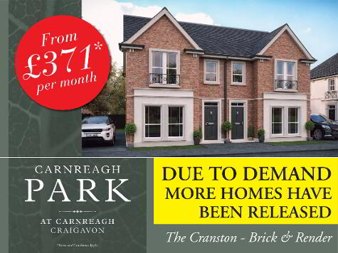 Photo 1 of The Cranston, Carnreagh Park, Off Drumnagoon Road, Craigavon