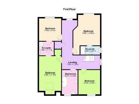 Floorplan 1 of 39B Dillons Avenue, Whiteabbey, Newtownabbey