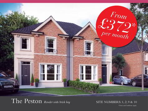 Photo 1 of The Peston (Render/Brick Bay), Orchard View At Baltylum Meadows, Lou...Portadown