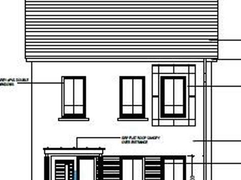 Floorplan 1 of House Type 22D, Cloneen Crescent, Cloneen Crescent, Maghera