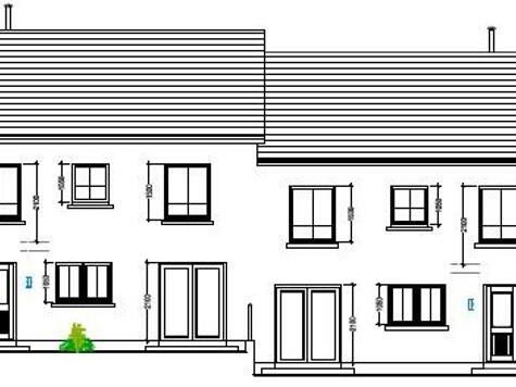 Floorplan 1 of House Type 23A, Cloneen Crescent, Cloneen Crescent, Maghera