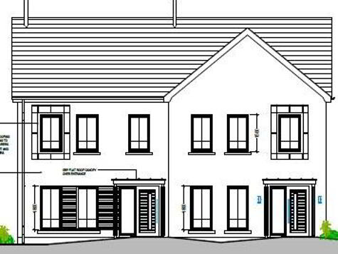 Floorplan 1 of House Type 21&22, Cloneen Crescent, Cloneen Crescent, Maghera