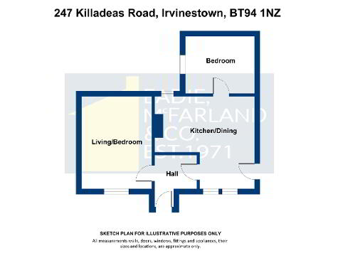 Floorplan 1 of 247 Killadeas Road, Irvinestown