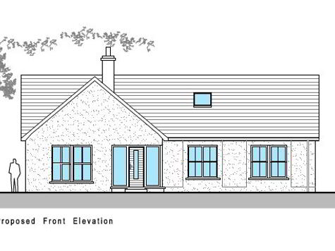 Floorplan 1 of House Type A, The Willows, Ballinamullan Road, Killyclogher, Omagh