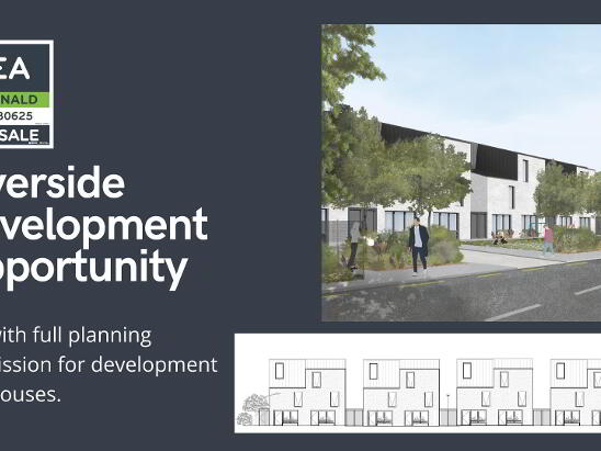 Photo 1 of Riverside Site With Planning For 9 Houses, Lower Road, Lucan, Dublin
