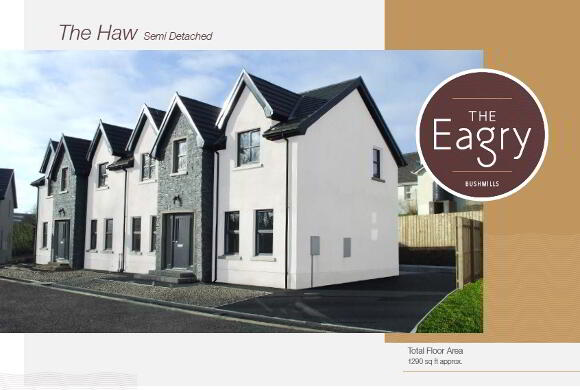 Photo 1 of The Haw (Semi Detached), The Eagry, ** Nhbc Award Winning Site **, Bushmills