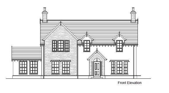 Floorplan 1 of Between 93&101 Rock Road, Rock Road Detached, Armagh