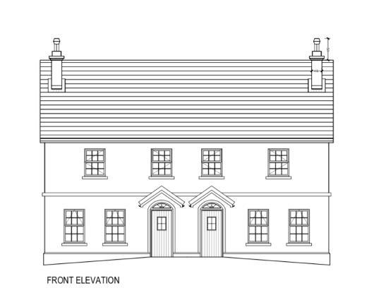 Floorplan 1 of House Type 2, Loranvale, Cookstown