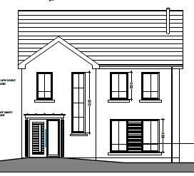 Floorplan 1 of House Type 17A, Cloneen Crescent, Cloneen Crescent, Maghera