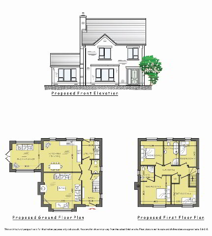 Floorplan 1 of Rivergrove, Clady, Portglenone